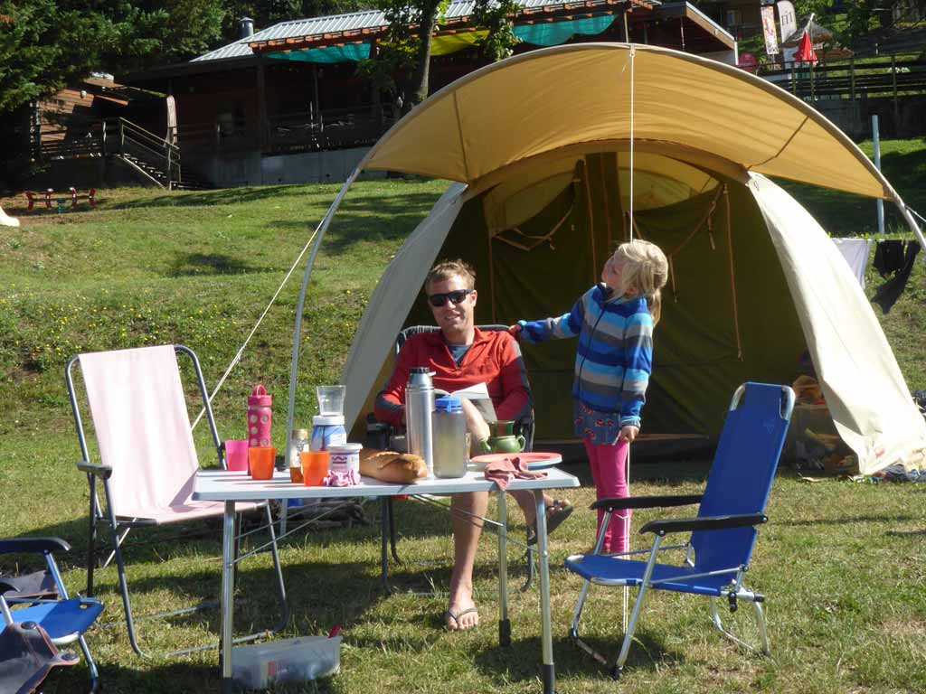 famille emplacement camping isere